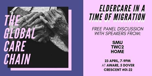 Eldercare in a Time of Migration Free Panel Discussion