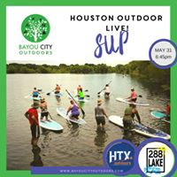 Houston Outdoors LIVE  Stand Up Paddleboarding101 by BCO &amp HTXO