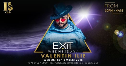 EXIT Wednesday with Valentin Ilie