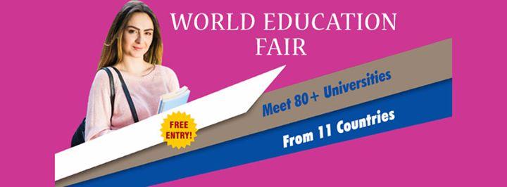 World Education Fair in Hyderabad