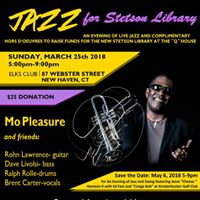 Jazz Fundraiser for the New Stetson Library