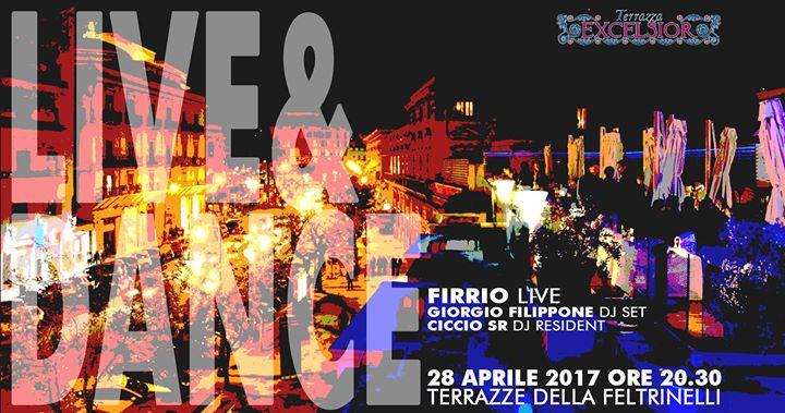 Live&Dance @Le Terrazze Feltrinelli at La Terrazza Dell\'excelsior ...