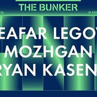 The Bunker with Leafar Legov Mozhgan Bryan Kasenic