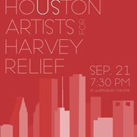 Houston Artists for Harvey Relief Benefit