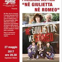 Proiezione FILM &quotN Giulietta n Romeo&quot