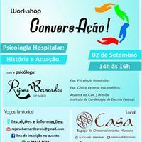 Workshop ConversAo - Psicologia Hospitalar Histria e Atuao