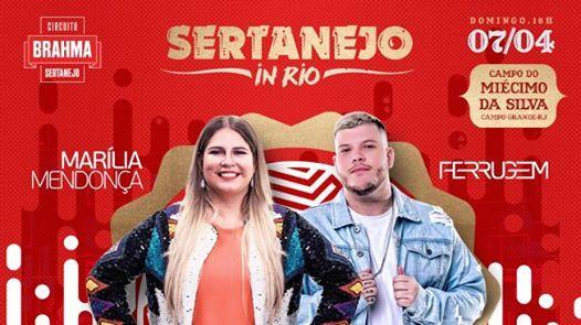 Sertanejo In Rio com Marlia Mendona e Ferrugem