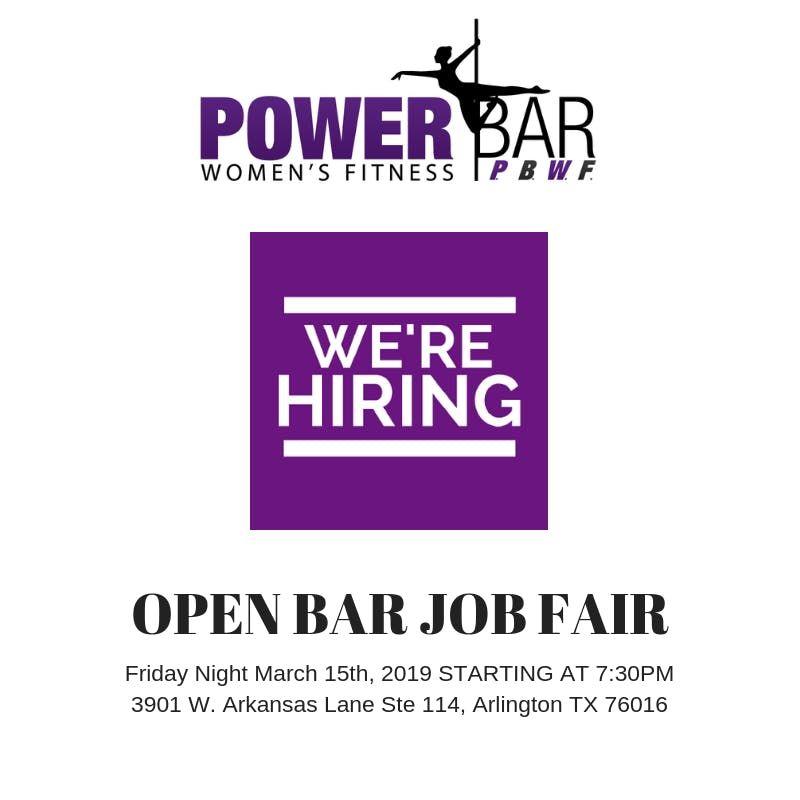 Dance Fitness Job Fair Dallas - Ft Worth Openings