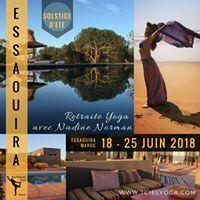 Retraite yoga Essaouira solstice dt avec Nadine Norman