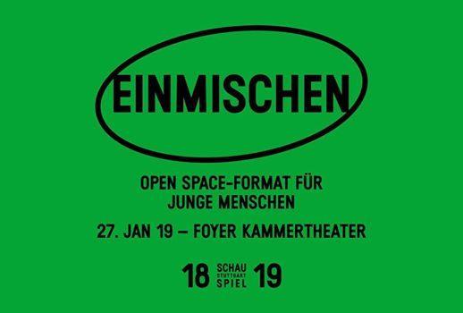 Einmischen - Open Space-Format fr junge Menschen