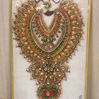 Meenakari Gold Painting