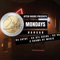 2 Mondays At Hangar - 2 Btl BeersVodka - VIPSY For 2 Entry