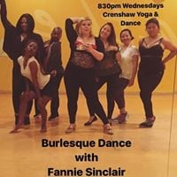 Crenshaw - Burlesque Wednesdays with Fannie Sinlcair