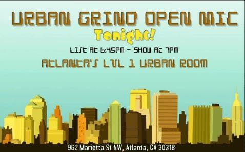 Urban Grind Open Mic Comedy Night