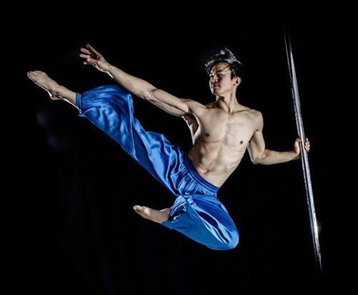 Workshops with Kenneth Kao Pole Ninja - Studio noXcuse Ghent