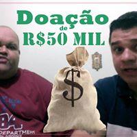 Doao de R50 MIL Reais