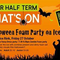 Zombie Foam Party