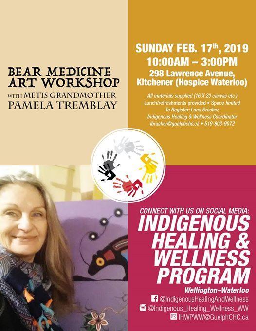 Bear Medicine Art Workshop- FULL (wait list available)