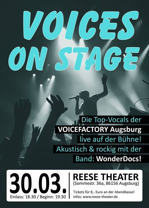 Voices on Stage  Reese Theater
