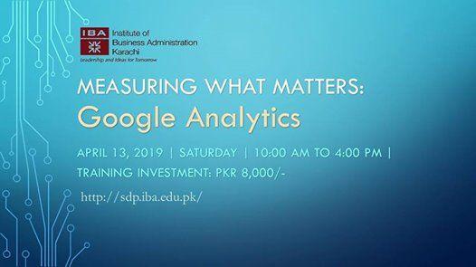 Measuring What Matters Google Analytics