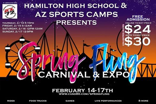 Hamilton High Carnival WWW.AZSPORTSCAMPS72.COM