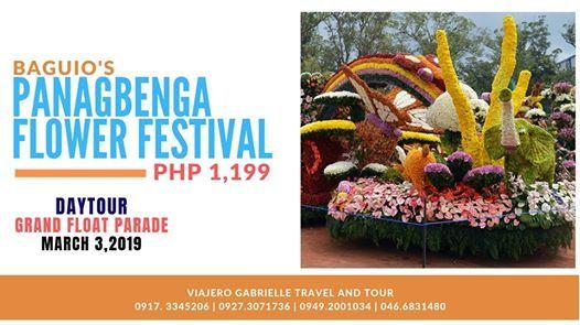 Baguios Panagbenga Flower Festival Grand Float Parade