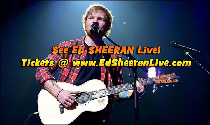 Ed Sheeran in Atlanta
