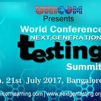 World Conference Next Generation Testing 2017