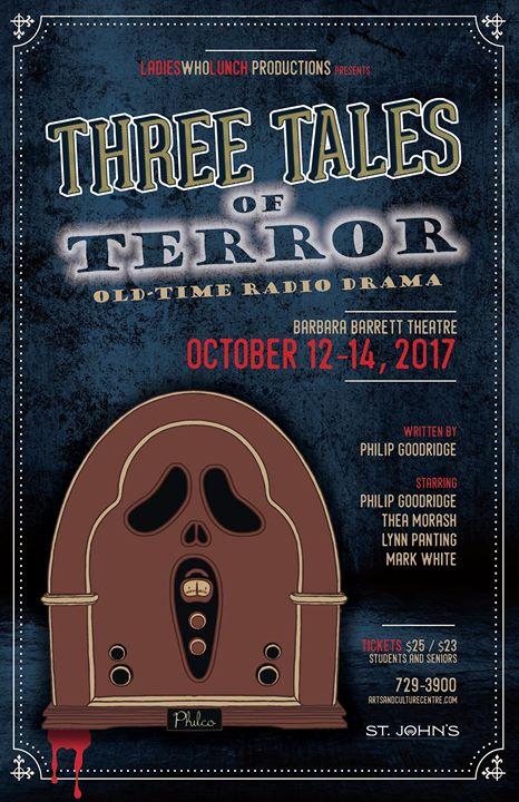 Three Tales Of Terror: Old Time Radio Drama at Barbara Barrett