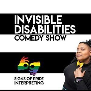 Invisible Disabilities Comedy Show (w ASL Interpretation)