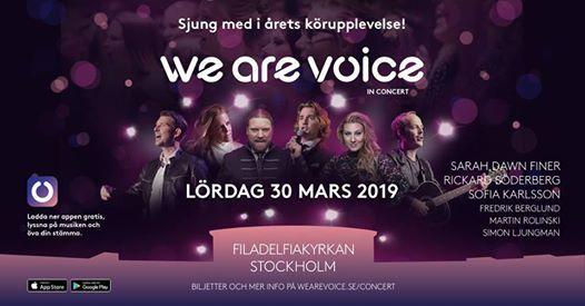 We Are Voice I 30 Mars 2019 I Filadelfiakyrkan