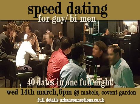 Speed Dating Gay London