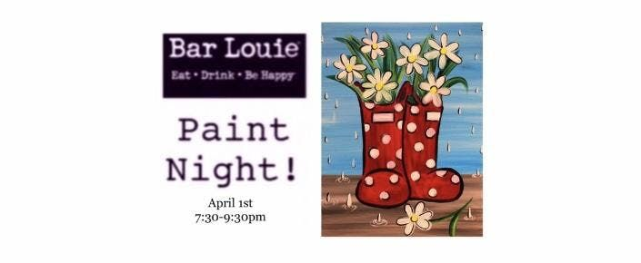 Paint Night at Bar Louie 41