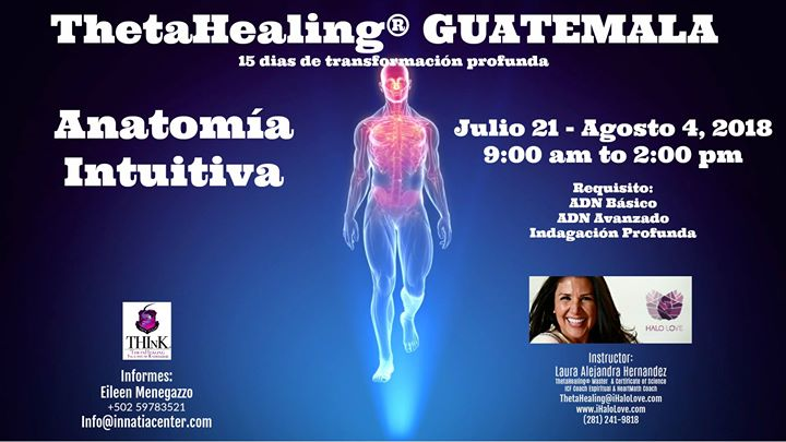 Anatomía Intuitiva Guatemala at I Halo Love, The Woodlands