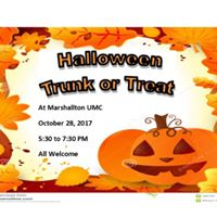 Annual Trunk or Treat Party