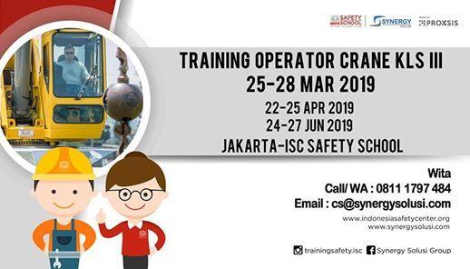 Training Operator Crane Kls III