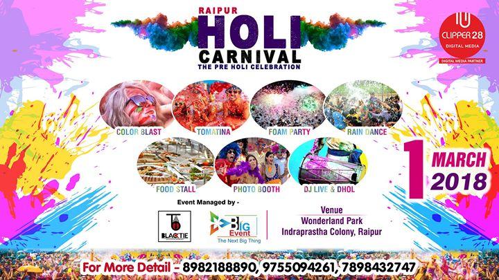 Holi Carnival 2018 Raipur