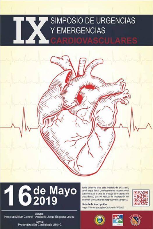 IX simposio de urgencias y emergencias cardiovasculares
