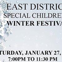 Elks East District Special Childrens Winter Festival