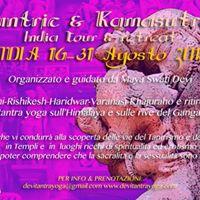 Viaggio India &quotTantric &amp Kamasutra tour&quot 16-31 Agosto 2017