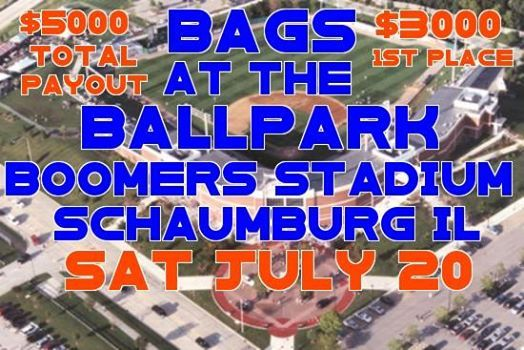 Bags At The Ballpark Boomers Stadium