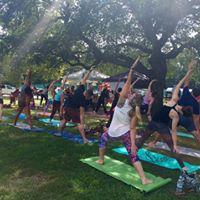 Pop-up Yoga at Village Days Open Air Market