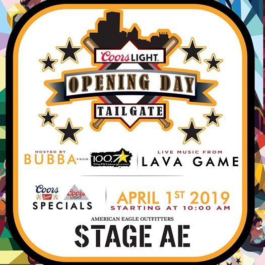 Coors Light Opening Day Tailgate