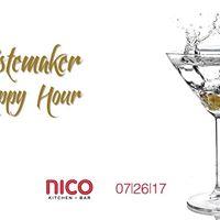 Gentleman Culture presents Tastemaker Happy Hour