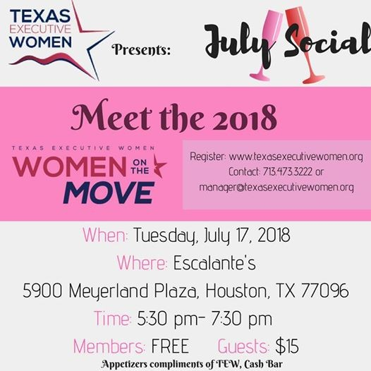 July Social Meet The 2018 WOM And Rising Star