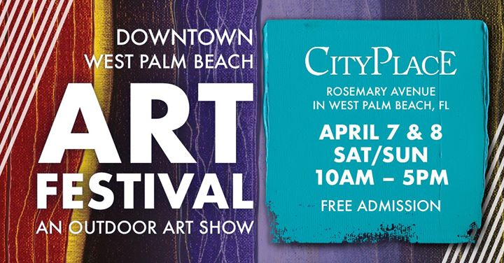 8th annual downtown west palm beach art festival at