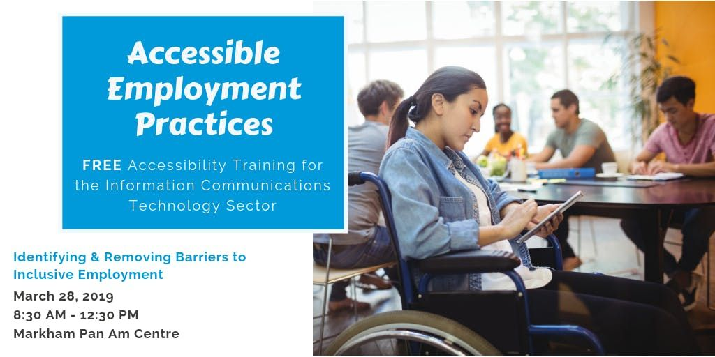 FREE Accessibility Awareness Training for Professionals in the ICT Sector