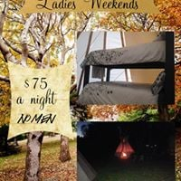 Ladies Only Spa and Fishing Weekend.