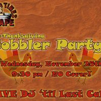 Pre-Thanksgiving Gobbler Party  Wednesday 11252015