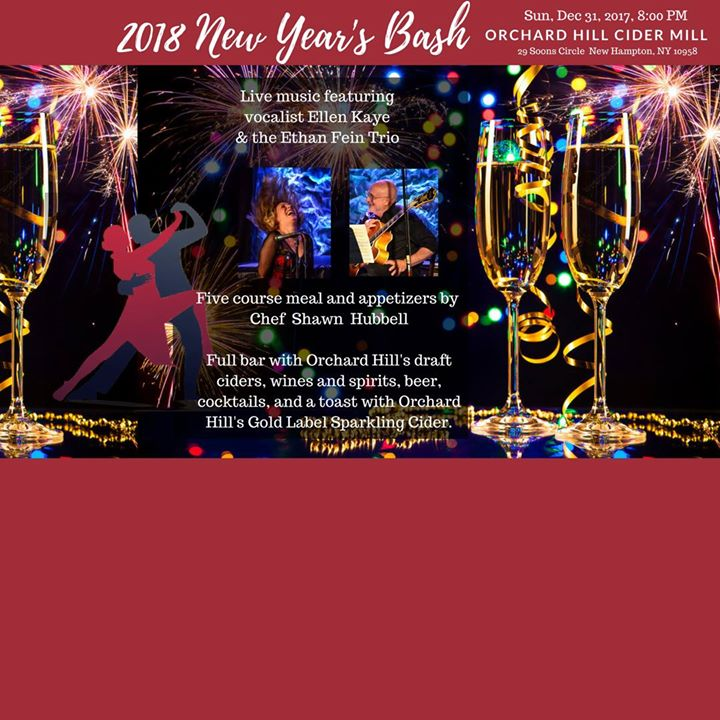 new years eve bash at orchard hill cider mill new hampton